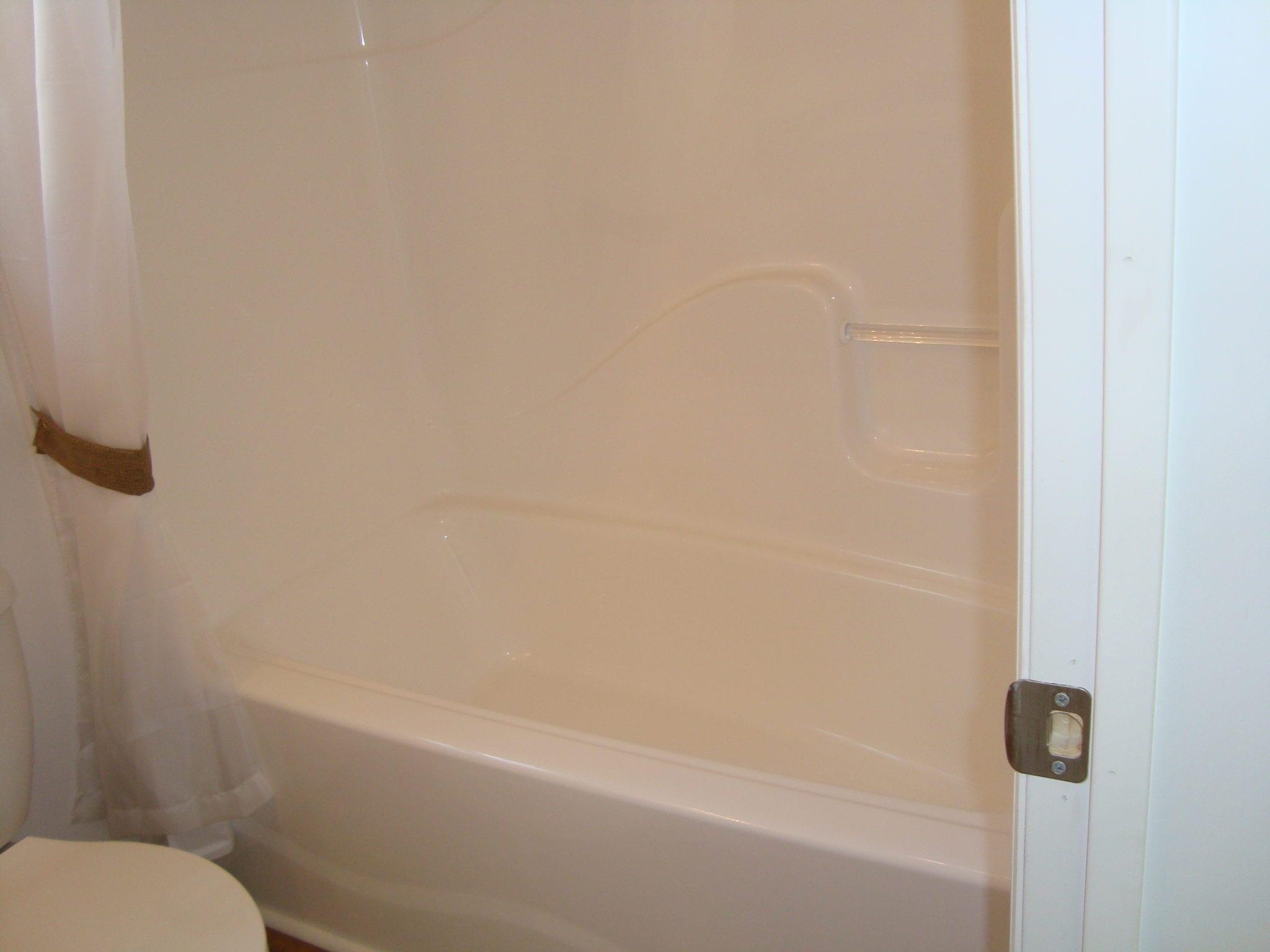 how to cut fiberglass shower